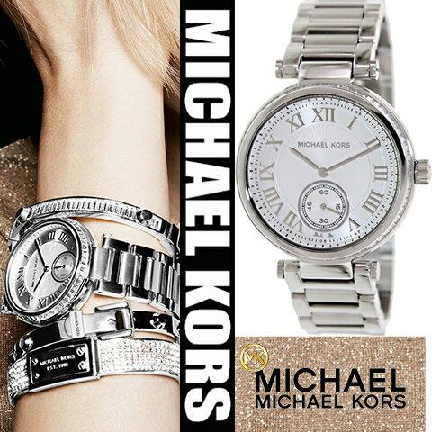 美國Outlet正品代購 MichaelKors MK 復古羅馬數字水鑽  陶瓷  三環 手錶 腕錶 MK5866 0