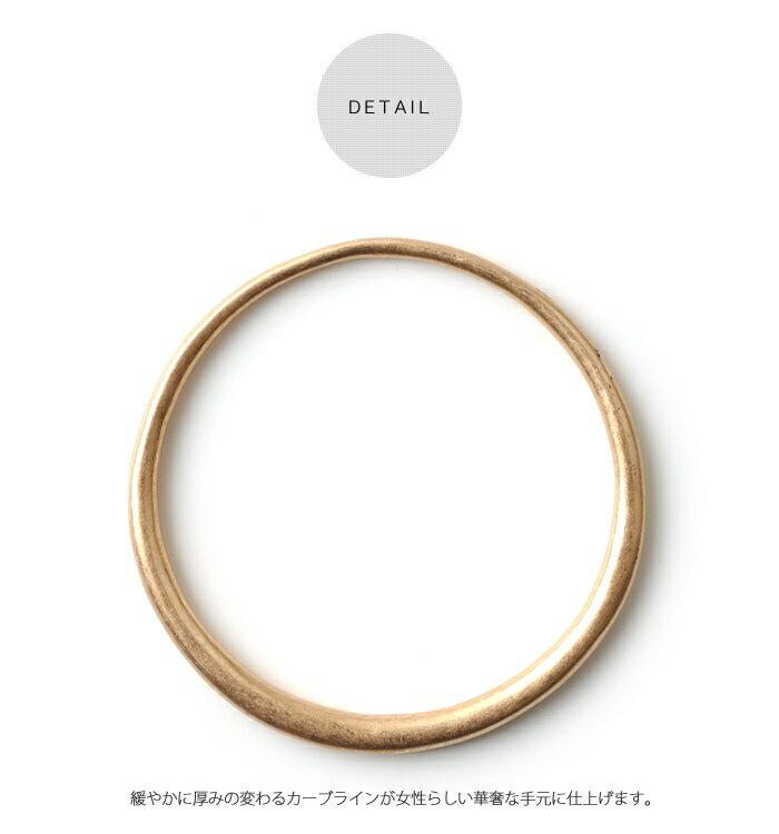 日本CREAM DOT  /  バングル ヴィンテージ メタル レディース ゴールド 金 シルバー 銀 シンプル 上品 ブランド アクセサリー プレゼント 大人 レディース 女性 大人 ジュエリー  /  qc0324  /  日本必買 日本樂天直送(1490) 6