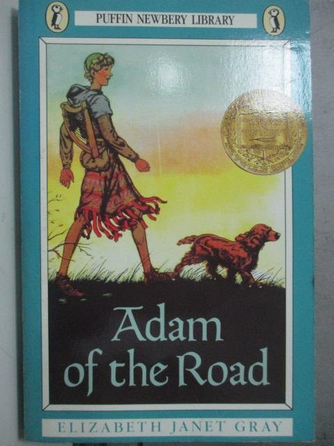 【書寶二手書T7/原文小說_ODL】Adam Of The Road_Vining, Elizabeth Gray/ L