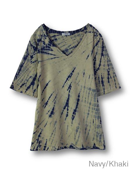 【Bali】100%有機棉A字長版T恤 8