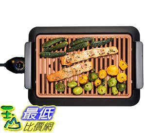 玉山最低比價網 [8美國直購] 無煙電烤爐 GOTHAM STEEL Smokeless Electric Grill,  Portable and Nonstick As Seen...