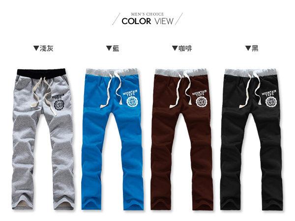 ☆BOY-2☆【OE62192】韓潮流圖騰舒適長褲 1