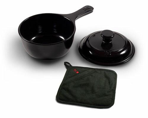 鼎上坩堝陶瓷鍋具~473毫升單把陶瓷湯鍋(型號:99596)