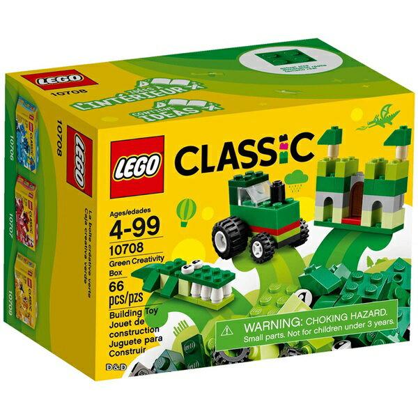樂高積木 LEGO《 LT10708 》2017 年 基本顆粒系列- 綠色創意盒