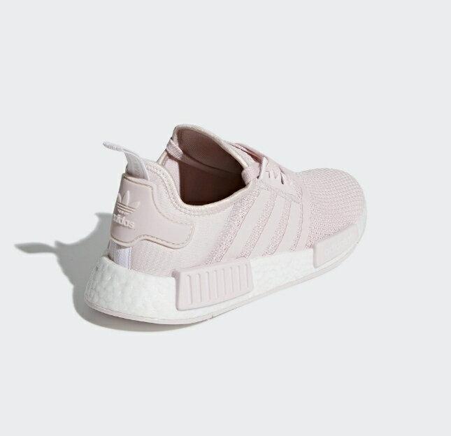 【ADIDAS】NMD_R1 紫藕 經典鞋 休閒鞋  慢跑鞋 女 訂價5290 B37652 (Palace store) 3