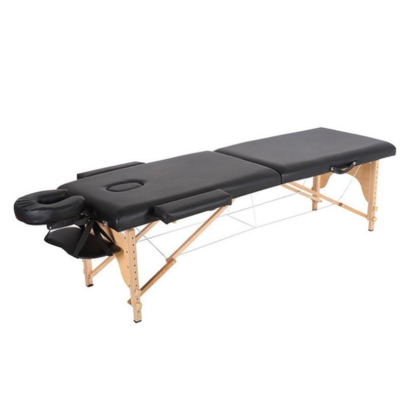 折疊櫸木SPA按摩床 折疊按摩床 推拿便攜式家用手提針艾灸理療美容床紋身床 【JHOME+ 就是家】