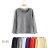 T恤 素色刷毛保暖簡約長袖T恤【MZTX1531】 BOBI  08 / 18 0