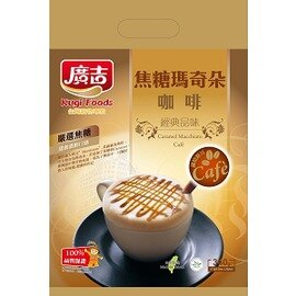 【廣吉】焦糖瑪奇朵咖啡 1袋20包