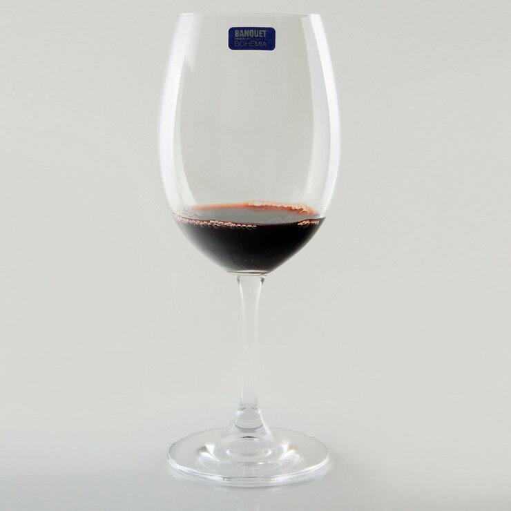 【曉風】水晶紅酒杯6入裝《Banquet Crystal 歐洲水晶紅酒杯 430ml 》 1