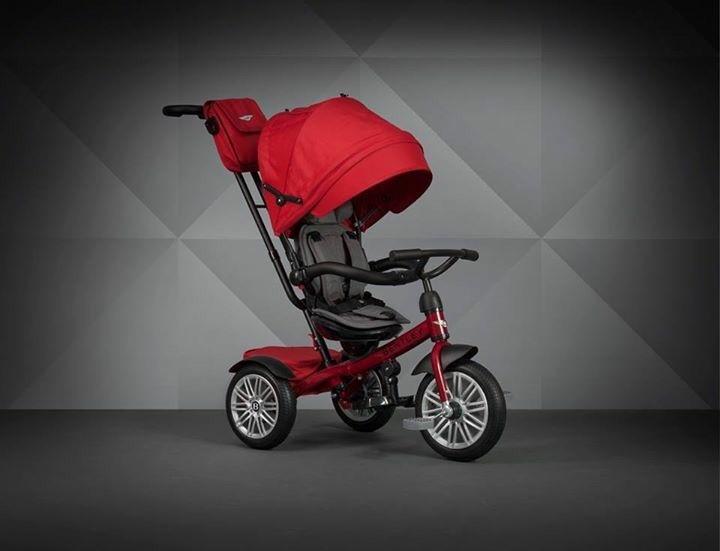 賓利 Bentley 三輪嬰兒手推車 黑 / 紅 / 藍 『121婦嬰用品館』 2