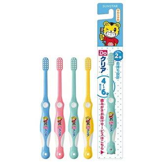日本 SUNSTAR 巧虎兒童牙刷 4-6歲 德國製*夏日微風*
