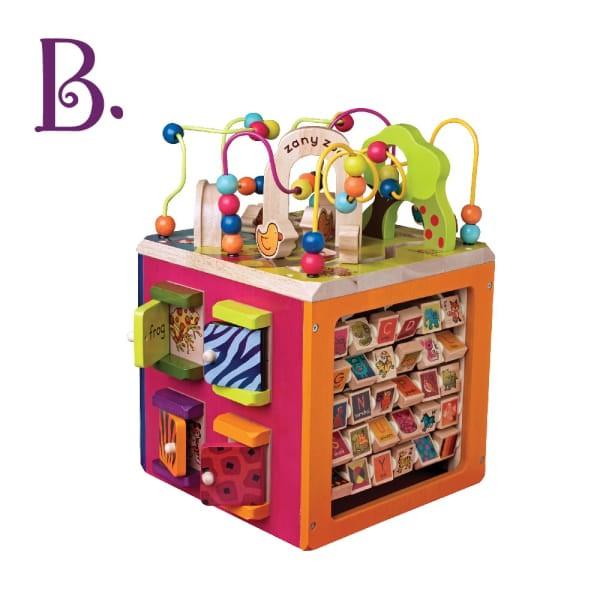 B.Toys-小丑動物園 感統玩具{童書城堡}