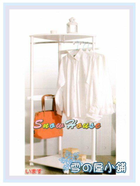 ╭☆雪之屋居家生活館☆╯AA1011-07 亞希扇形木質衣架(白色)/吊衣架/掛衣架/西裝架/衣帽架/DIY自組