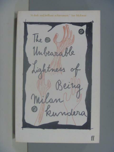 【書寶二手書T1/原文小說_IRN】Unbearable Lightness of Being_Milan Kundera