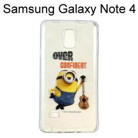 小小兵透明軟殼 [OVER] Samsung Galaxy Note 4 N910U【正版授權】