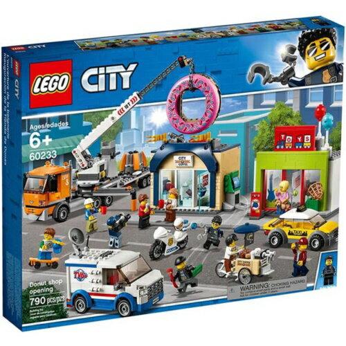樂高LEGO 60233 City Fire 城市系列 -甜甜圈店新開幕 - 限時優惠好康折扣
