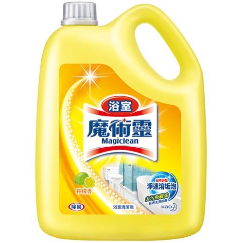 來易購:魔術靈浴室清潔劑量販瓶檸檬香3800ml