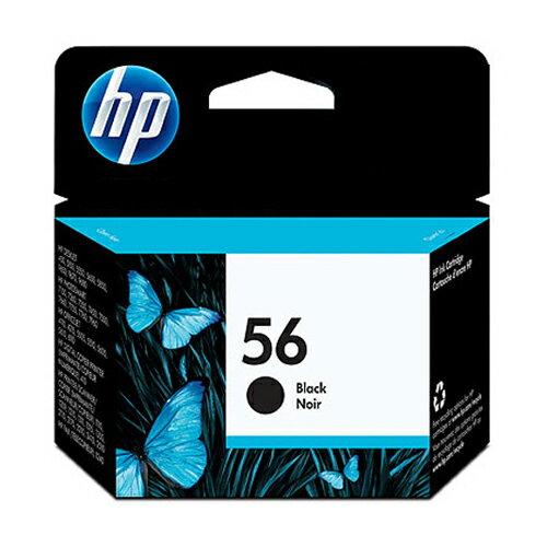 HP 原廠黑色墨水匣 C6656AA 56號 適用 450ci/5550/5652/9650/9680/4110/4255/5510/5610/6110/1210/1315