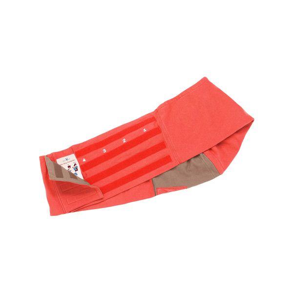 【安琪兒】荷蘭【wallaboo】酷媽袋鼠背巾 - 雙色系(紅/駝) 1