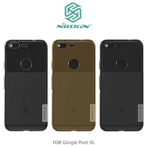【愛瘋潮】NILLKIN Google Pixel XL 本色TPU軟套 軟殼 果凍套 手機殼