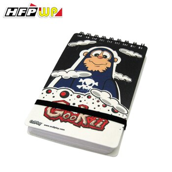 HFPWP 全球限量 酷小子 口袋型筆記本100張內頁附索引尺GKN3351台灣製 / 本