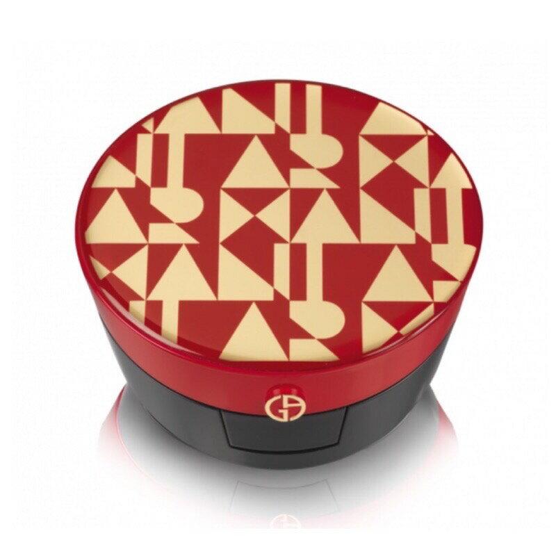 Giorgio Armani 訂製絲光精華氣墊粉餅 霧面 GA 亞曼尼 紅氣墊 紅絲絨《小乖小舖》