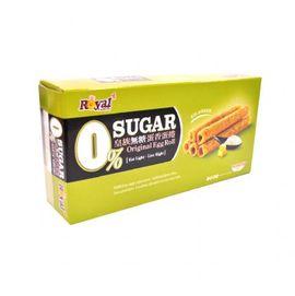 皇族無糖蛋香蛋捲(箱裝)(54gx2包/盒) 甜馨營養中心