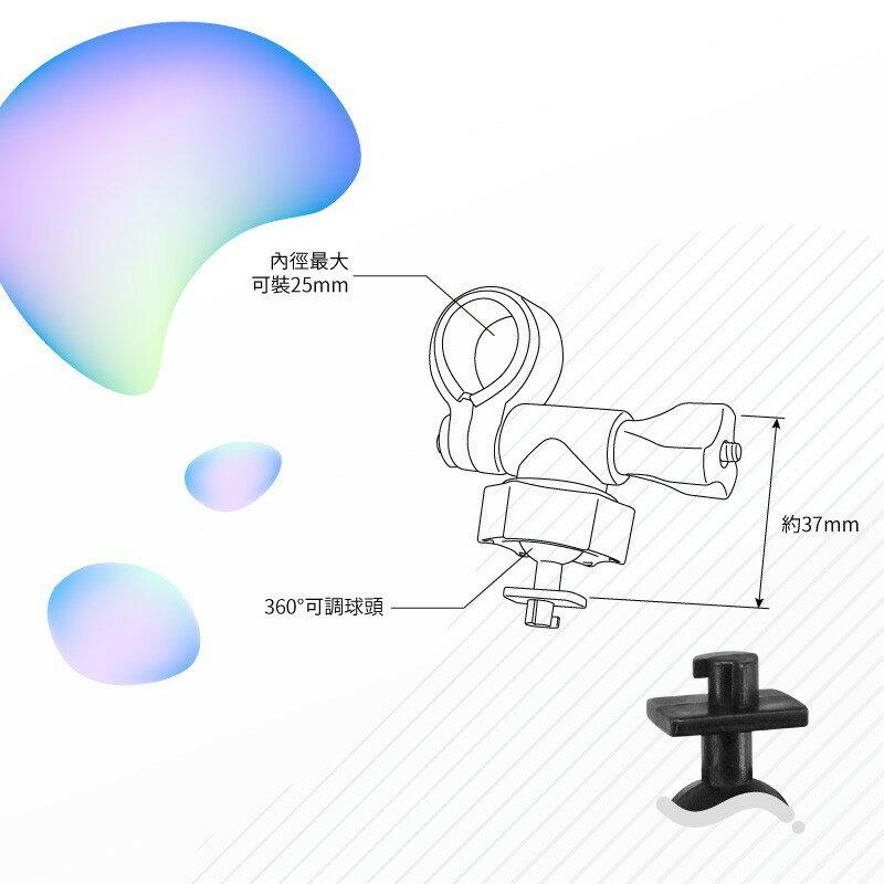 E01【短軸 柱型】後視鏡扣環支架 愛國者  H300 H500 V6 V7 X3 X5|BuBu車用品