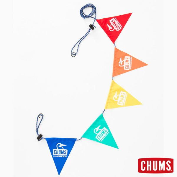 【鄉野情戶外用品店】 CHUMS |日本|  露營三角旗-大頭/露營佈置/CH62-1082-Z052