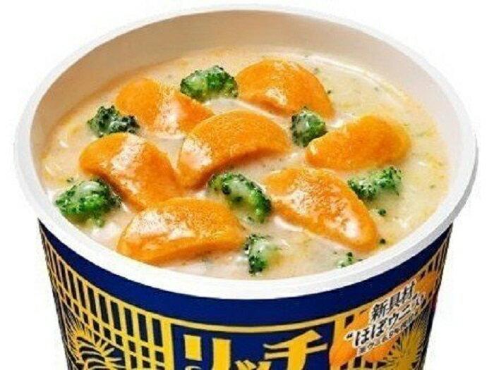 - 代購預購 -日本日清海膽泡麵 カップヌードル リッチ 贅沢濃厚うにクリーム  /  72g (麺50g)  /  一箱12入 1