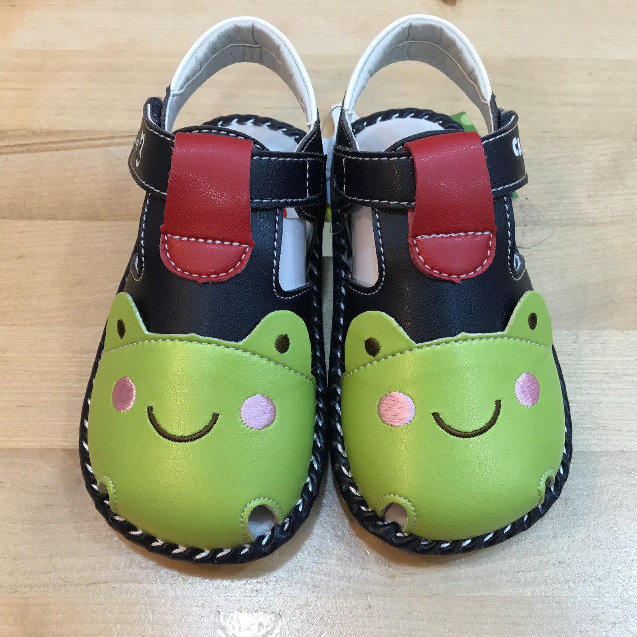 【禾宜精品】五折學步鞋 可愛青蛙 真皮鞋墊 天鵝童鞋 恰恰兔 涼鞋 手工鞋 寶寶 台灣製造 童鞋