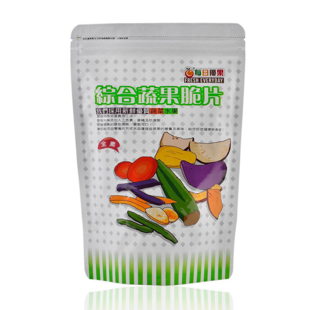 綜合蔬果脆片160公克【每日優果】 3