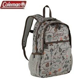 [Coleman]10L迷你健行者背包露營村米色公司貨CM-32957
