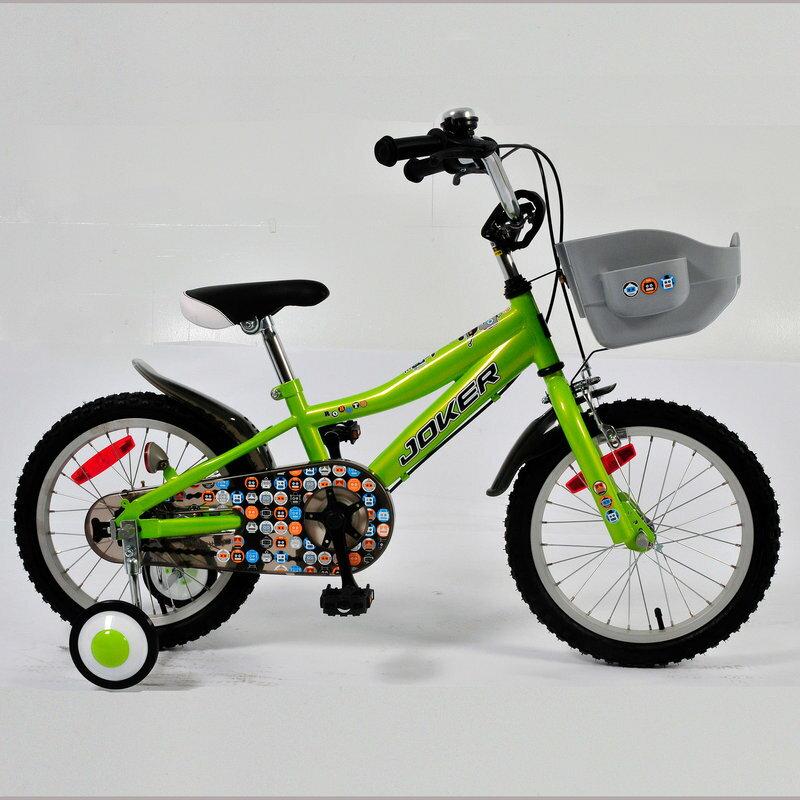 【7號公園自行車】JOKER 傑克牌 A-C1611 16吋彩繪童車 綠