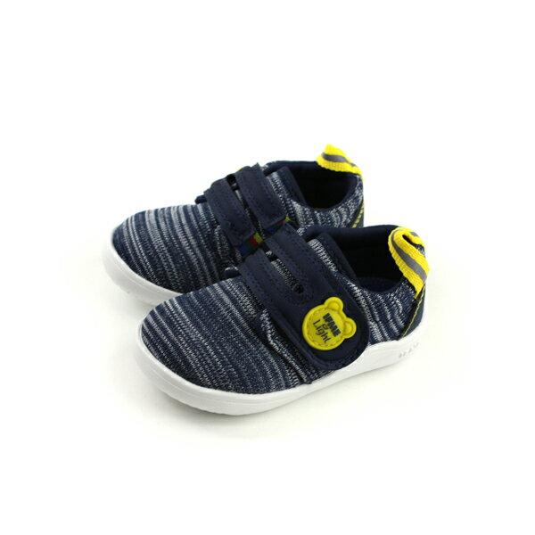 IFME運動鞋寶寶鞋機能鞋深藍色小童童鞋IF22-870511no083