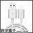 ※ 欣洋電子 ※ iLeco Type-C 急速充電傳輸線1m (IL-QUTC10)黑白色系 行動電源最佳夥伴 HTC / SONY / 三星 / 小米 1