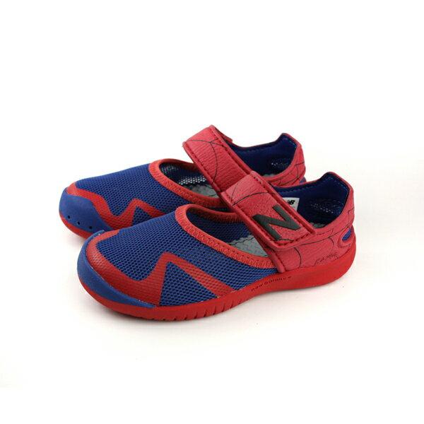 NewBalanceMarvel漫威蜘蛛人休閒鞋藍紅童鞋KA208SMYno420