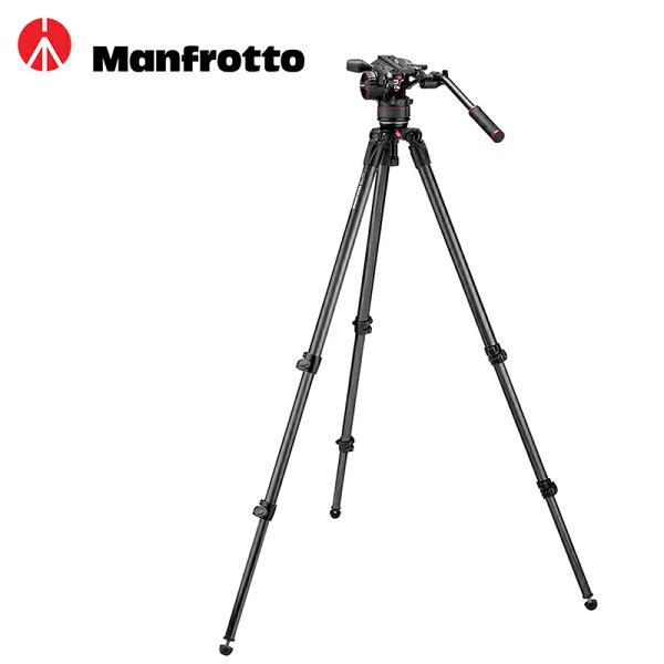 ◎相機專家◎ManfrottoMVKN8C535腳架+N8雲台套組錄影攝影雲台公司貨