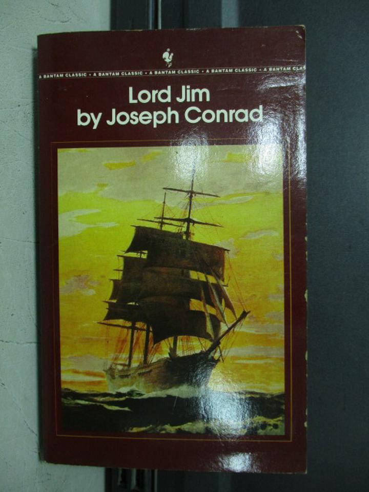 【書寶二手書T5/原文小說_KAS】Lord Jim_Joseph conrad