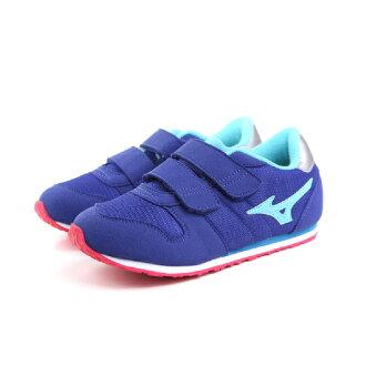 Mizuno 美津濃 運動鞋 童鞋 藍色 中童 no012