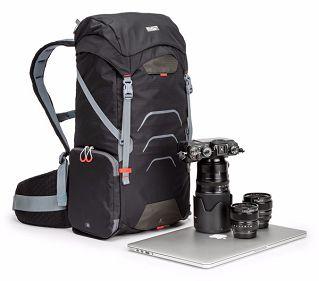 Nikon-Mall:【MindShift】曼德士MS303運動休閒機能包25L(灰黑)