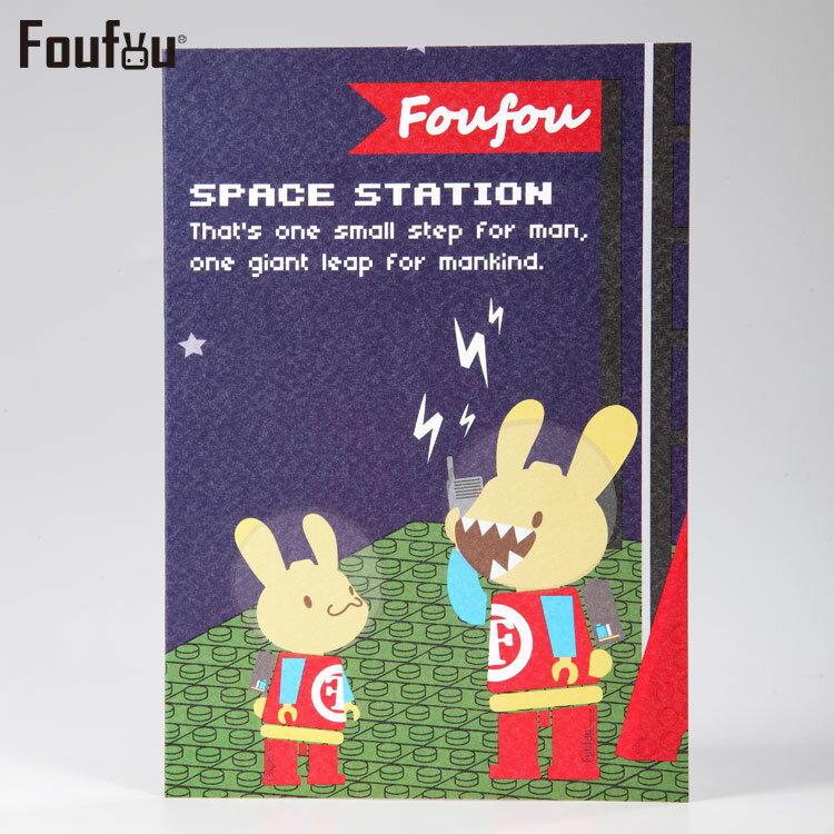 《Foufou》紙公仔卡片Card-宇宙人艦隊