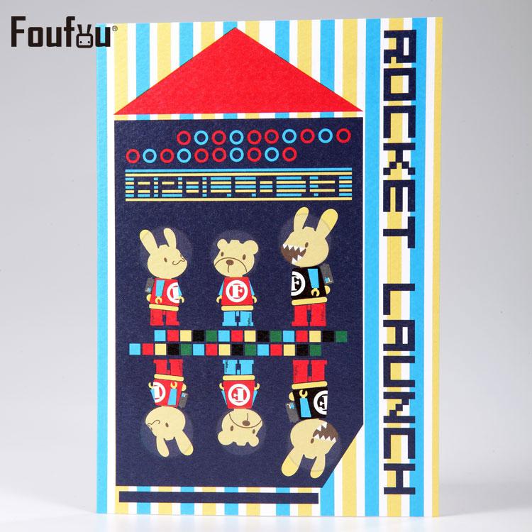 《Foufou》紙公仔卡片Card-阿波羅13號