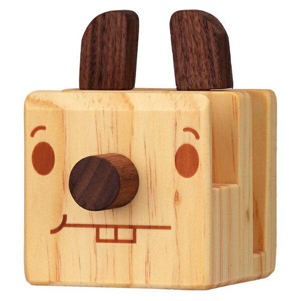 《Foufou》家飾木製品//眼鏡架 手機座 名片座// 手感上市-哈貝二齒