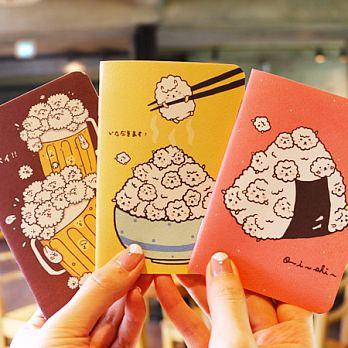 ~Mori Shu~護照筆記本~泡泡羊的吃飽飽料理^(三本一組^)
