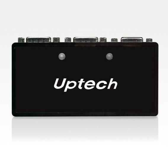 Uptech 登昌恆 VS200 2-Port 一分二 一對二 螢幕分配器 VS-200 1