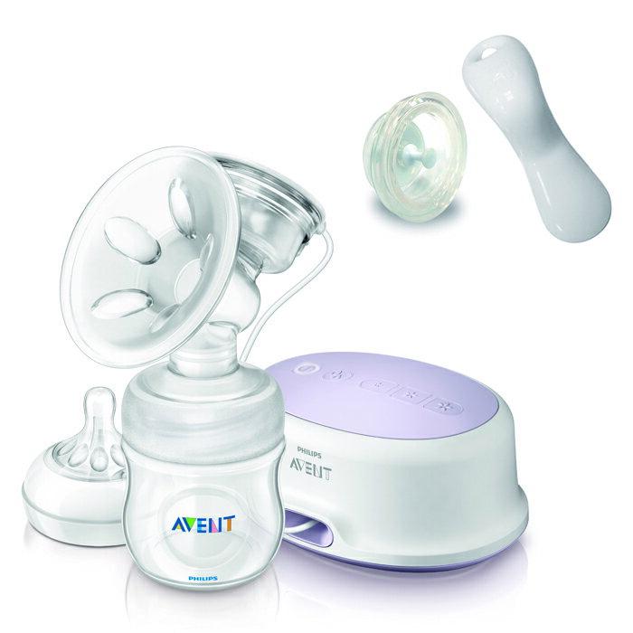 Philips Avent新安怡 - 輕乳感單邊電動吸乳器 (附手動配件組)