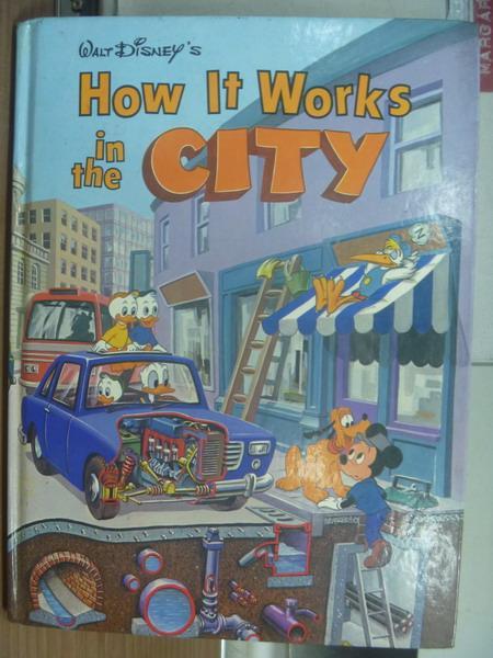 ~書寶 書T8/兒童文學_QEO~迪士尼~How it works in the city