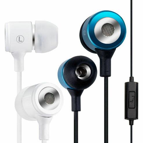 【迪特軍3C】E-booksS6線控接聽鋁製耳道式耳機-藍白智慧手機專用接聽鍵+隱藏式智慧手機麥克風