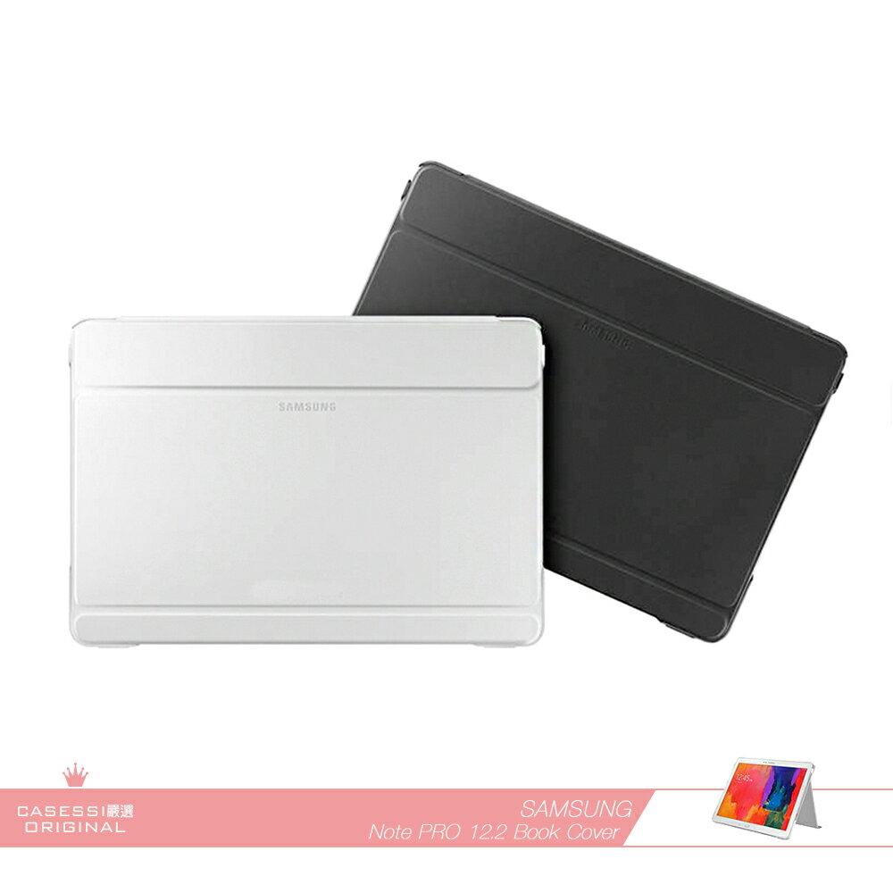Samsung三星 原廠Galaxy Note Pro 12.2吋專用 商務式皮套 /翻蓋書本式保護套 /摺疊側翻平板套 /休眠 喚醒